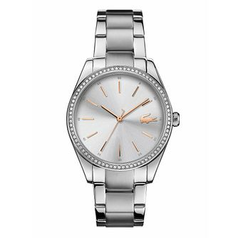 Lacoste Parisienne Ladies' Stainless Steel Bracelet Watch - Product number 3276414