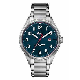 Lacoste Continental Men's Stainless Steel Bracelet Watch - Product number 3276481