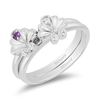 Enchanted Disney Fine Jewelry Diamond Ariel Ring Set - Product number 3277585