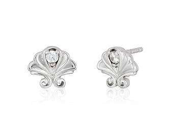 Enchanted Disney Fine Jewelry Diamond Ariel Stud Earrings - Product number 3277720