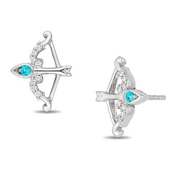 Enchanted Disney Fine Jewelry Diamond Merida Stud Earrings - Product number 3277739