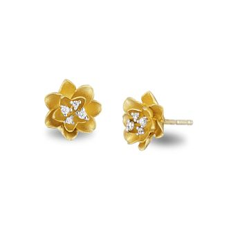 Enchanted Disney Fine Jewelry Diamond Tiana Stud Earrings - Product number 3277763