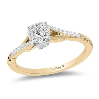 Enchanted Disney Fine Jewelry Diamond Belle Ring - Product number 3278107
