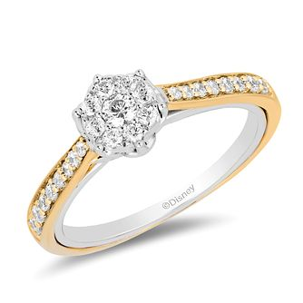 Enchanted Disney Fine Jewelry Diamond Belle Ring - Product number 3278395