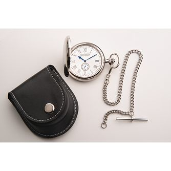 Jean Pierre Mother Of Pearl Two Tone Pocket Watch - Product number 3280144