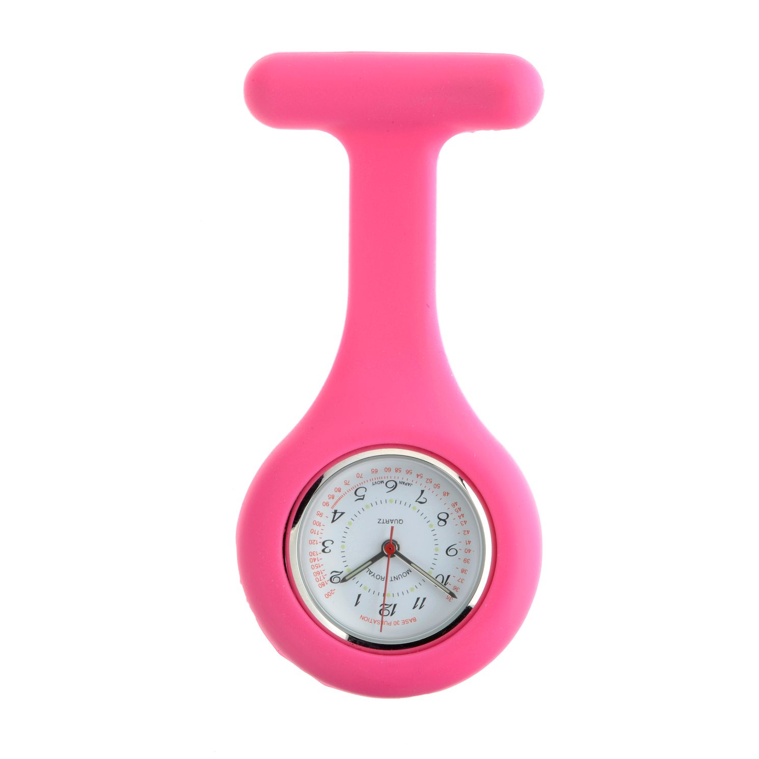 Mount Royal Pink Silicone Fob Watch - Product number 3280268