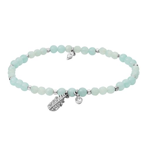 Fossil Ladies' Amazonite Blue Wellness Bracelet - Product number 3286282