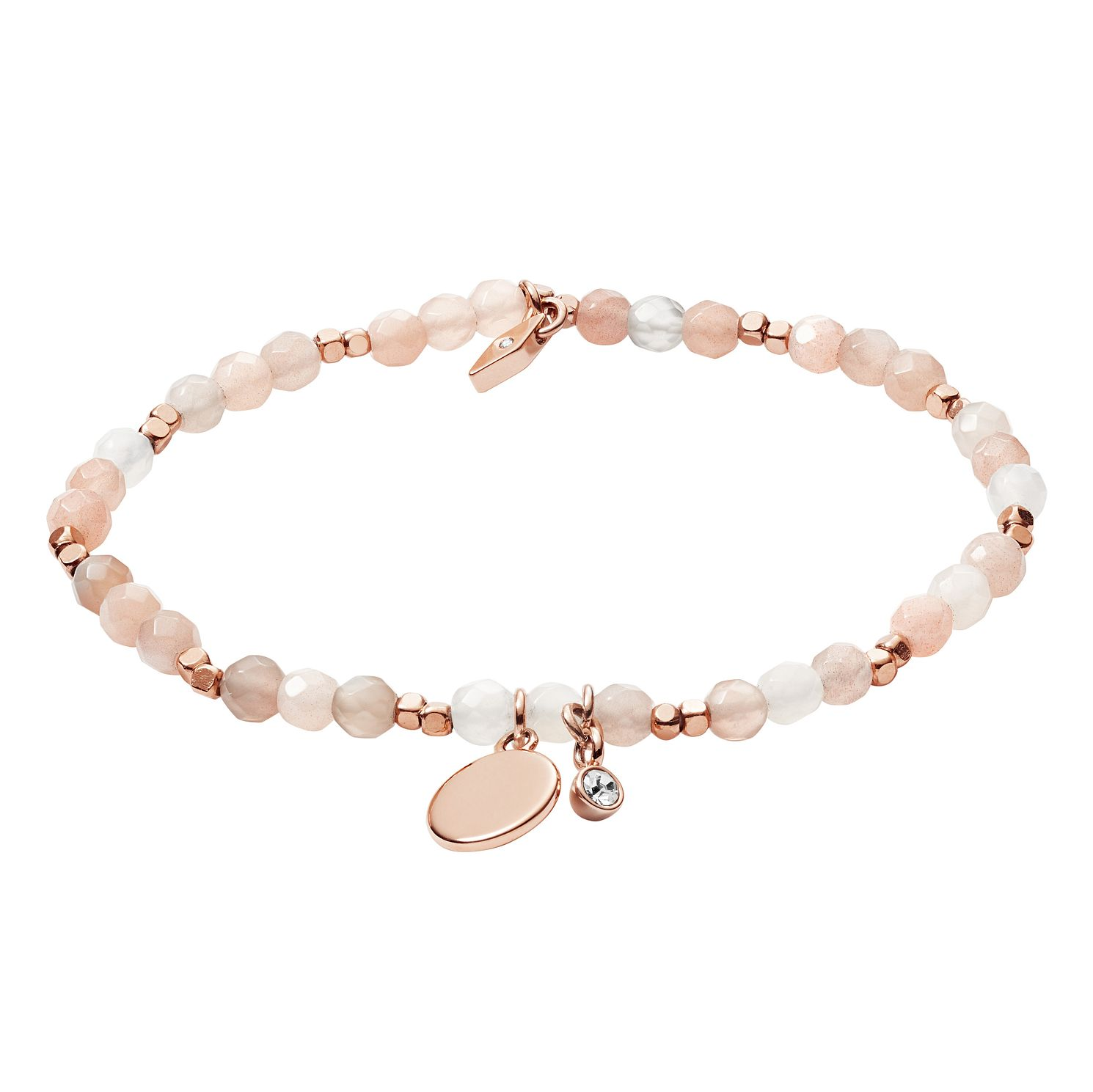 Fossil Ladies' Moonstone Nude Wellness Bracelet - Product number 3286304