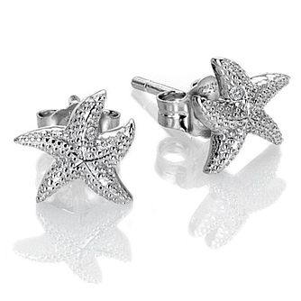 Hot Diamonds Guiding Light Silver Starfish Earrings - Product number 3289621