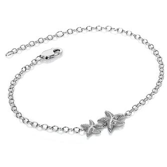 Hot Diamonds Guiding Light Silver Starfish Bracelet - Product number 3289958