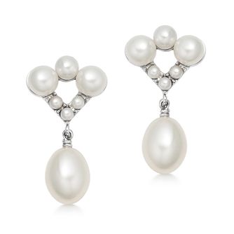 Links Of London Pearl Caraibes Silver Drop Earrings - Product number 3290042