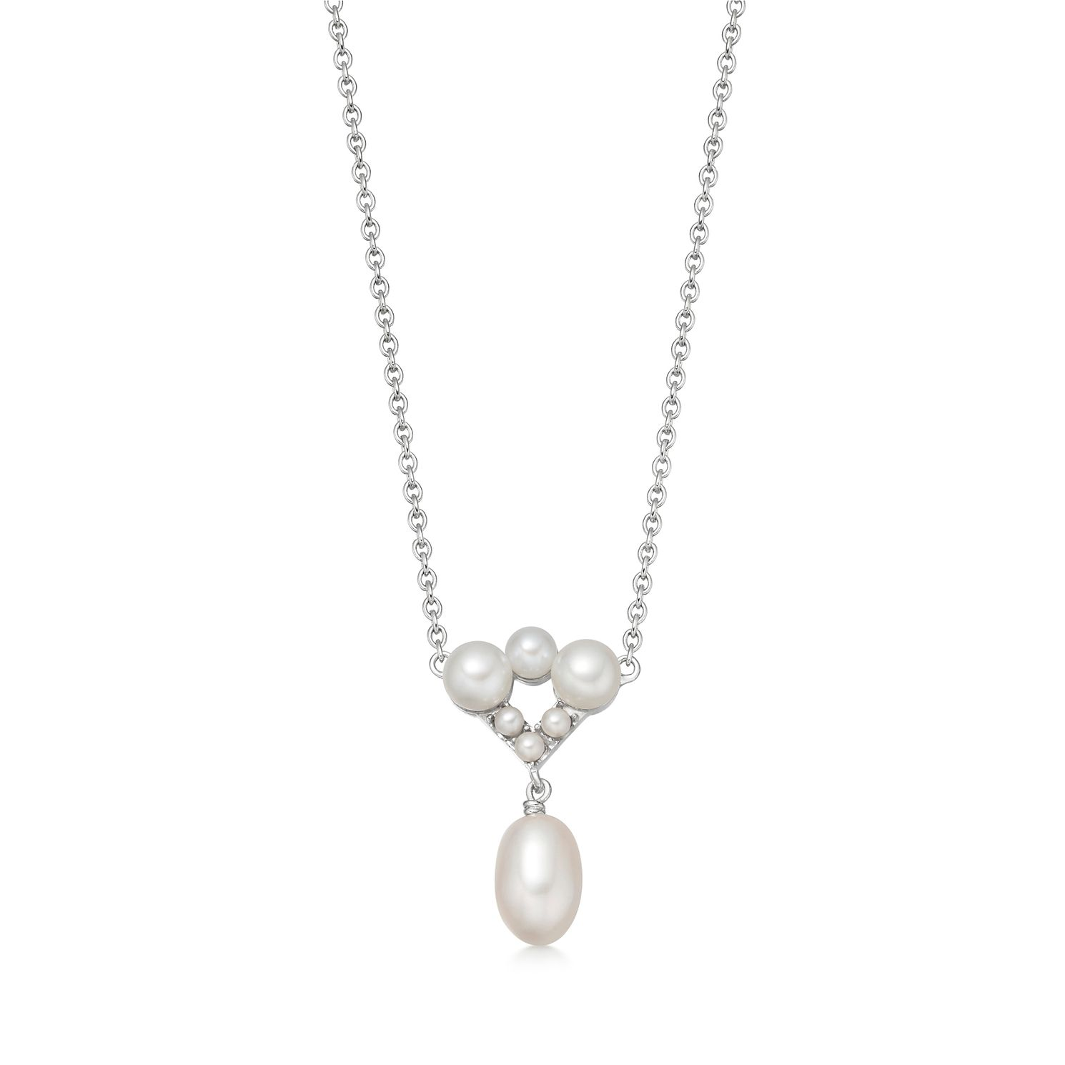 Links Of London Pearl Caraibes Silver Necklace - Product number 3290239