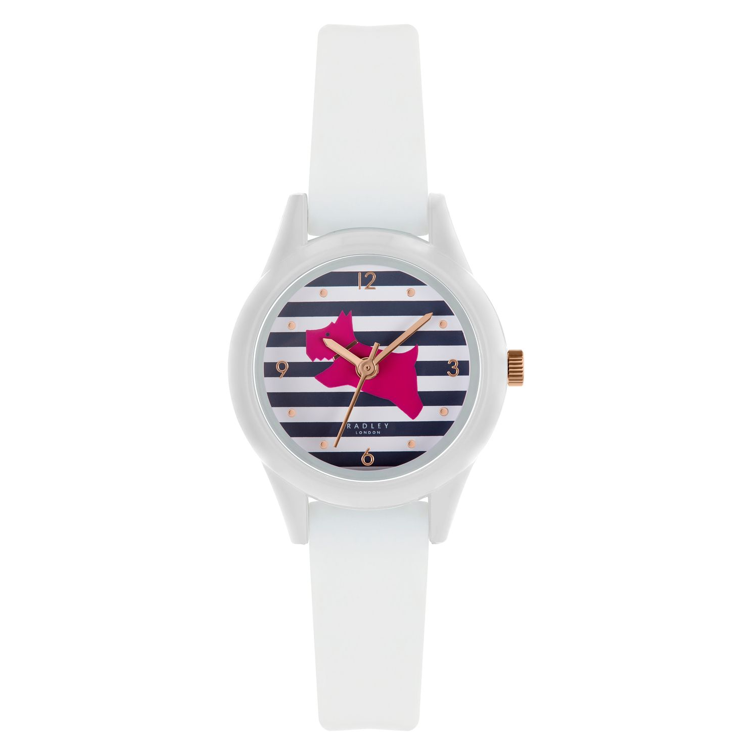 Radley Watch It! Ladies' White Silicone Strap Watch - Product number 3297136