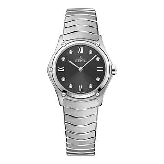 Ebel Sport Classic Ladies' Stainless Steel Bracelet Watch - Product number 3300072