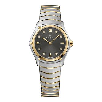 Ebel Sport Classic Ladies' Two Tone Bracelet Watch - Product number 3300099
