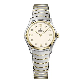 Ebel Sport Classic Ladies' Two Tone Bracelet Watch - Product number 3300102