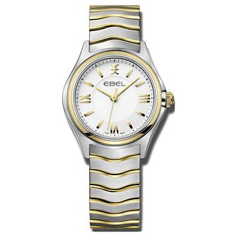 Ebel Wave Ladies' Two Tone Bracelet Watch - Product number 3300218
