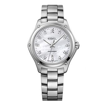 Ebel Discovery Ladies' Stainless Steel Bracelet Watch - Product number 3300242