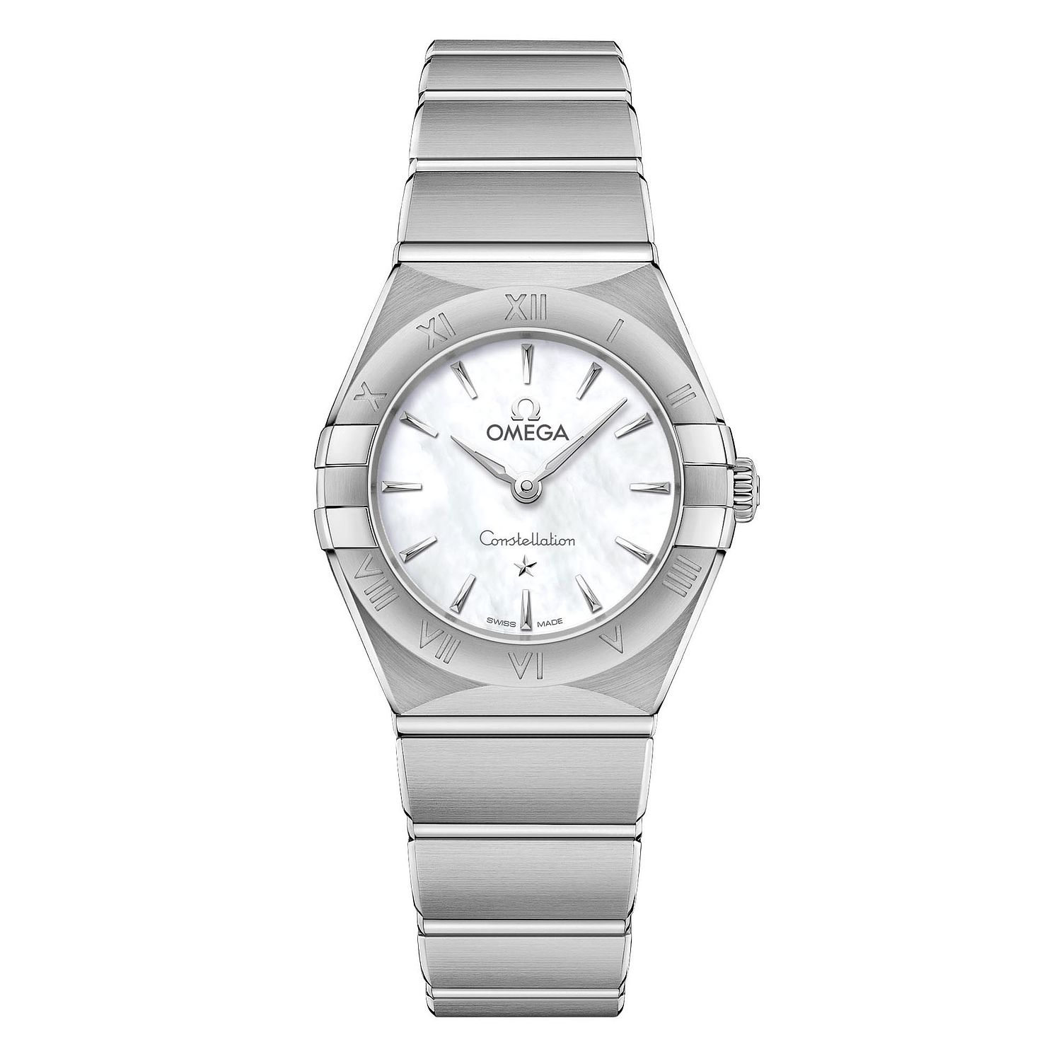 Omega Constellation Ladies Stainless Steel Bracelet Watch - Product number 3306984
