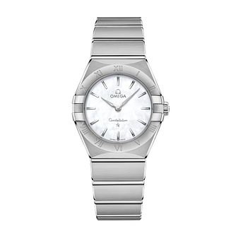 Omega Constellation Ladies Stainless Steel Bracelet Watch - Product number 3307166