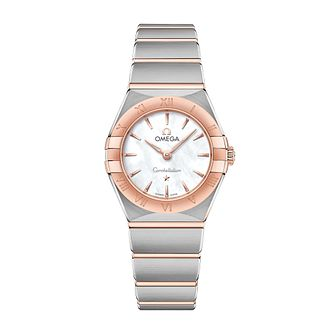 Omega Constellation Ladies Two Colour Bracelet Watch - Product number 3307387