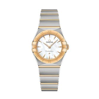 Omega Constellation Ladies Two Colour Bracelet Watch - Product number 3307417