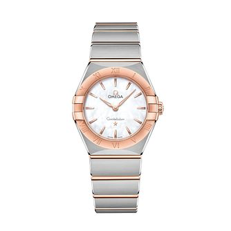Omega Constellation Ladies Two Colour Bracelet Watch - Product number 3307522
