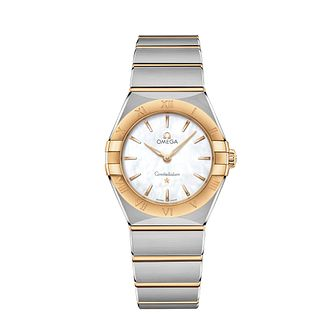 Omega Constellation Ladies Two Colour Bracelet Watch - Product number 3307557