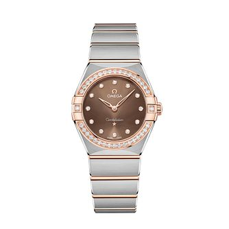 Omega Constellation Manhattan Two-Tone Bracelet Watch - Product number 3308138