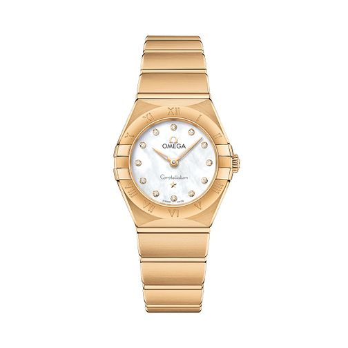 Omega Constellation Manhattan 18ct Gold Bracelet Watch - Product number 3308170