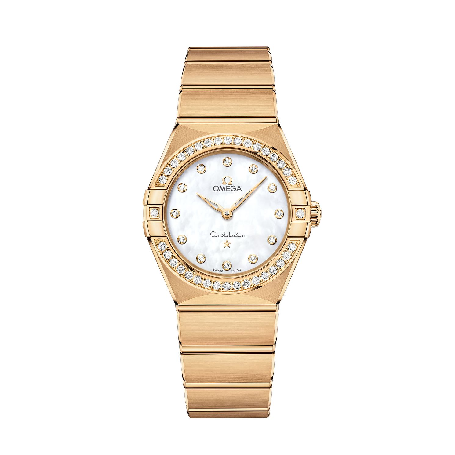 Ladies' Omega Constellation Manhattan 28Mm - Product number 3309177
