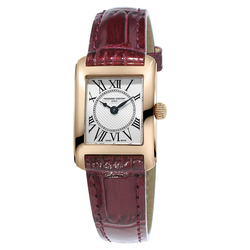 Frederique Constant Carree Ladies' Yellow Gold Plated Watch - Product number 3320618