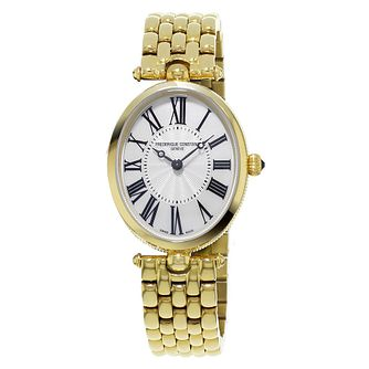 Frederique Constant Art Deco Ladies' Gold Plated Watch - Product number 3320820