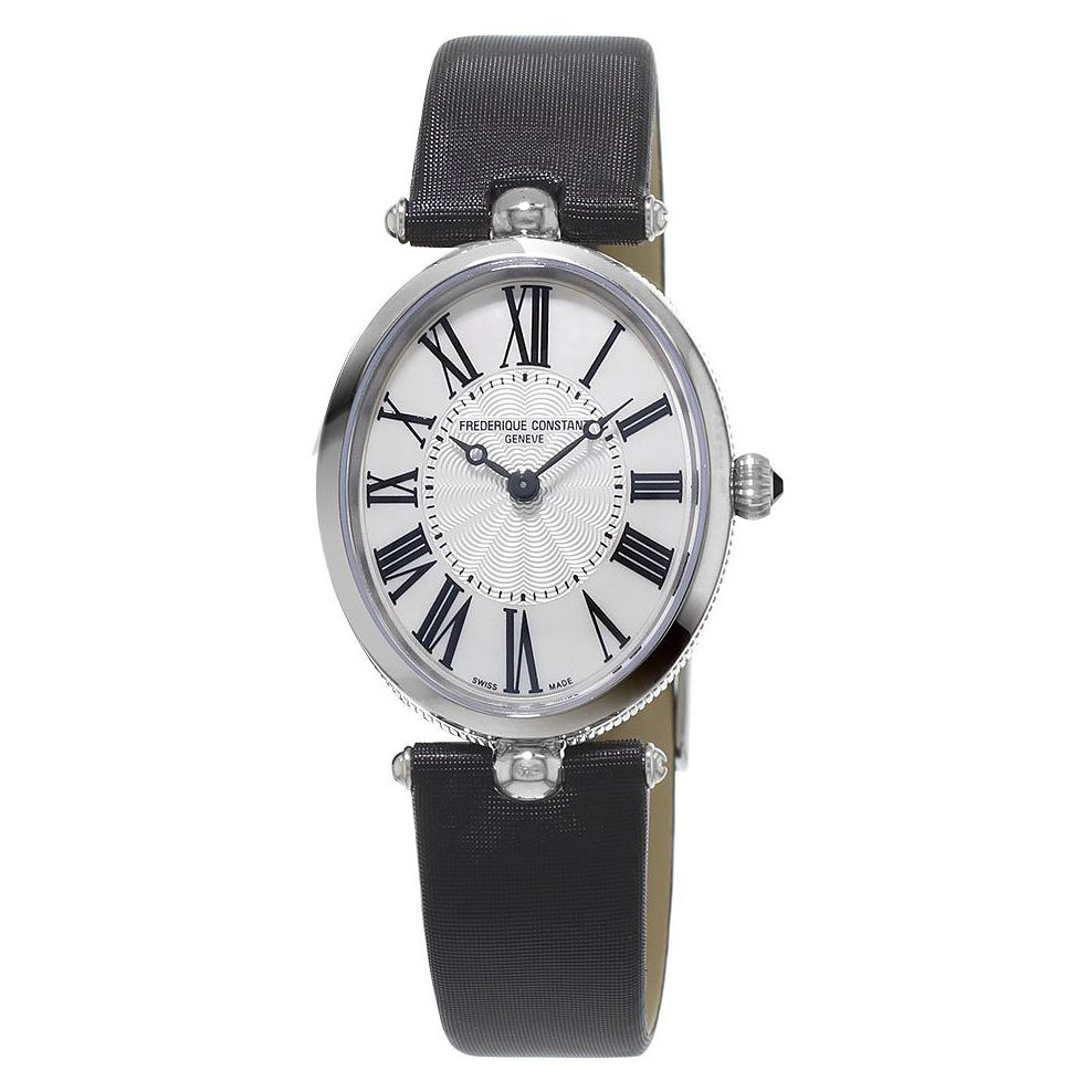Frederique Constant Art Deco Ladies' Black Strap Watch - Product number 3320960
