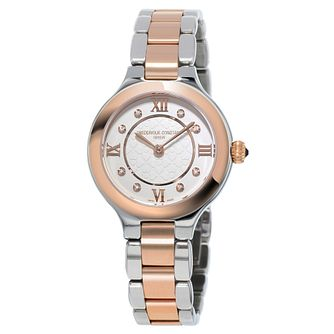 Frederique Constant Delight Ladies Two Colour Diamond Watch - Product number 3321630