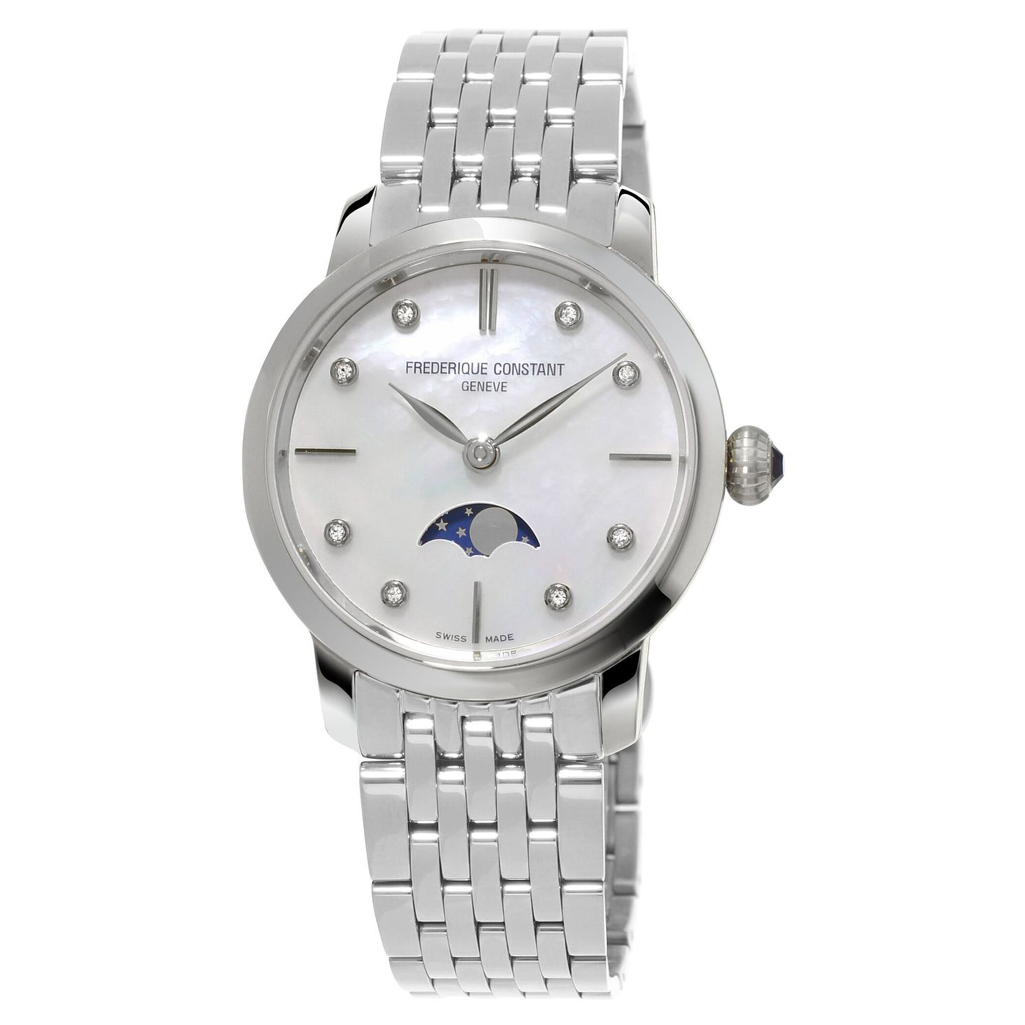 Frederique Constant Slimline Ladies' Bracelet Watch - Product number 3321762