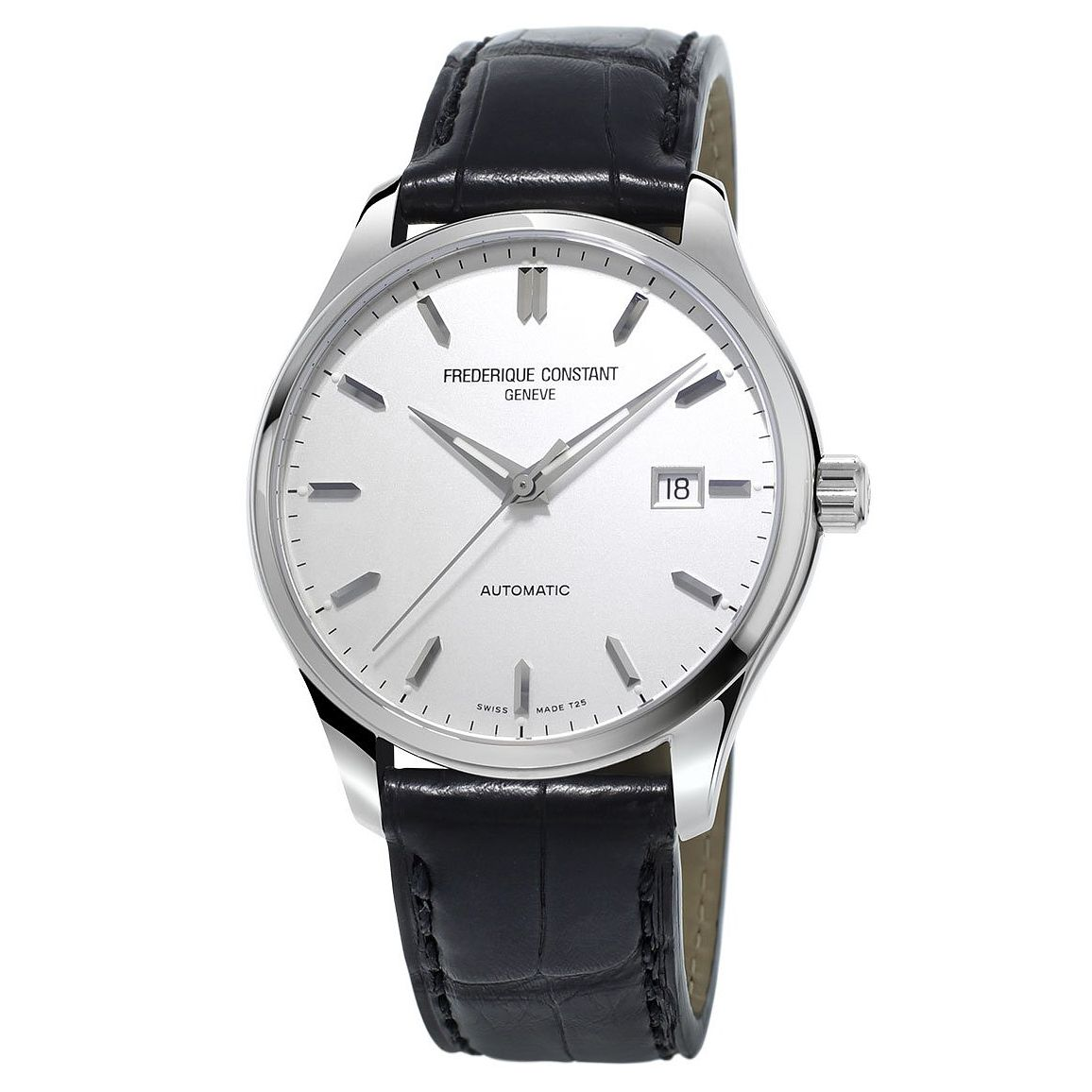 Frederique Constant Index Men's Stainless Steel Strap Watch - Product number 3322319