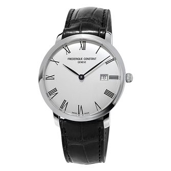 Frederique Constant Slimline Men's Stainless Steel Watch - Product number 3322343
