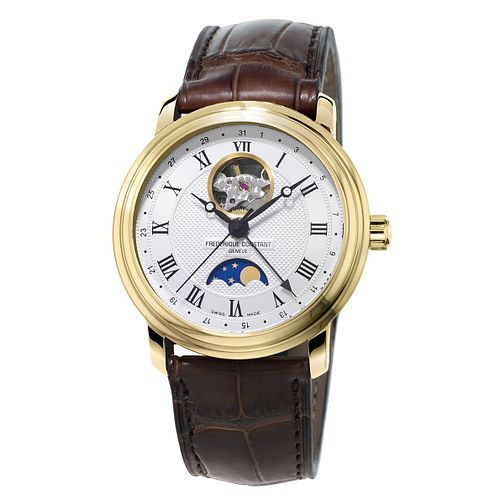 Frederique Constant Classics Men's Gold Plated Watch - Product number 3322424