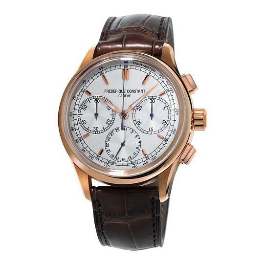Frederique Constant Manufacture Men's Brown Strap Watch - Product number 3322467