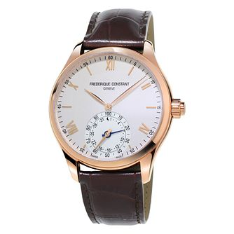 Frederique Constant Men's Rose Gold Plated Smartwatch - Product number 3322505