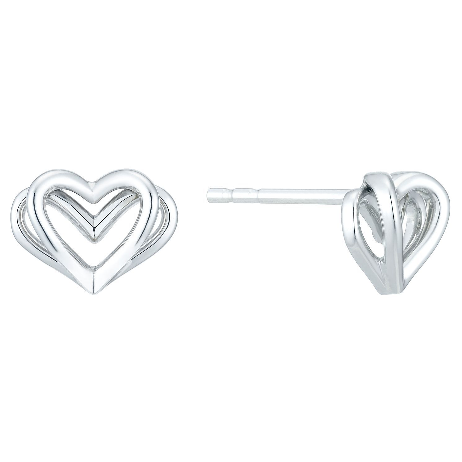 Vera Wang Kindred Heart Sterling Silver Earrings - Product number 3331822
