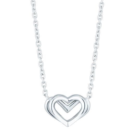 Vera Wang Kindred Heart Sterling Silver Necklace - Product number 3334473