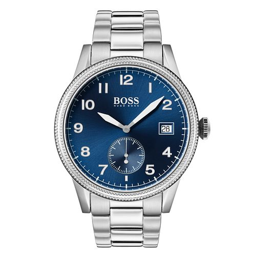 BOSS Legacy Men's Stainless Steel Bracelet Watch - Product number 3341933