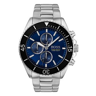 BOSS Ocean Edition Men's Stainless Steel Bracelet Watch - Product number 3342042