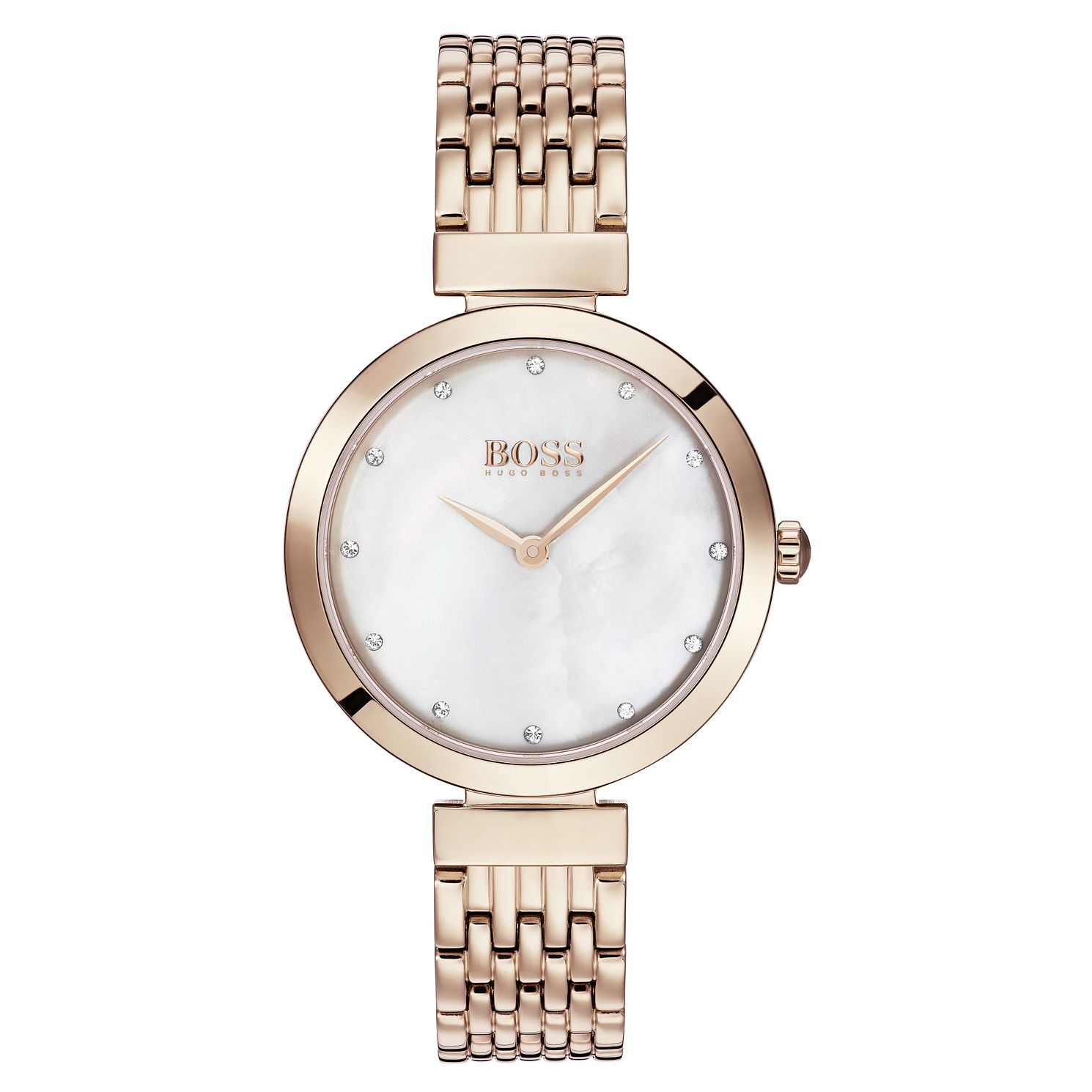 BOSS Celebration Ladies' Rose Gold Tone Bracelet Watch - Product number 3343405