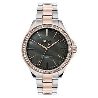Hugo Boss Victoria Ladies' Two Tone Bracelet Watch - Product number 3348628
