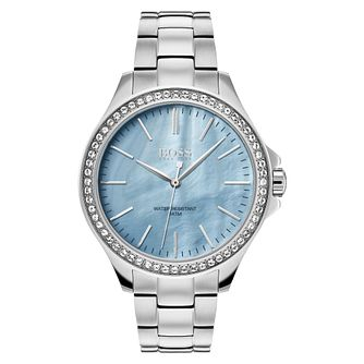 Hugo Boss Victoria Ladies' Stainless Steel Bracelet Watch - Product number 3349039
