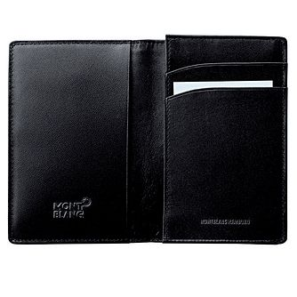 Montblanc Meisterstuck black business card holder - Product number 3366243