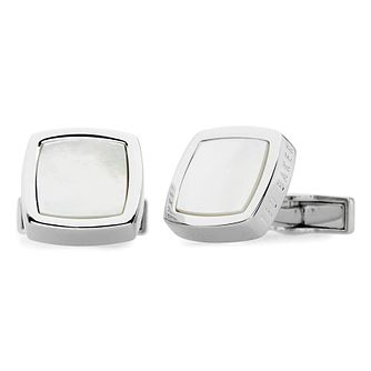 Ted Baker Dedlift Men's Brass White Cufflinks - Product number 3372405